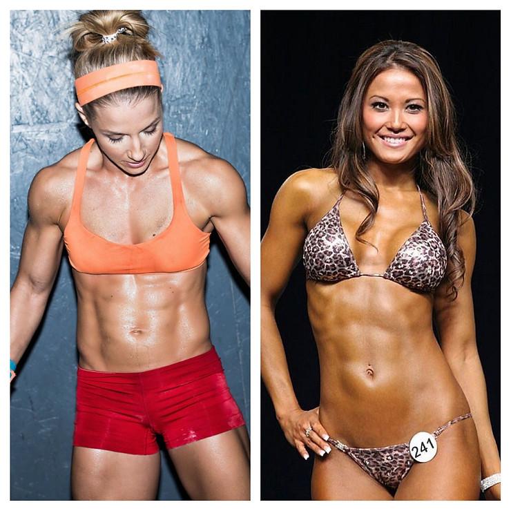 bikini vs crossfit body