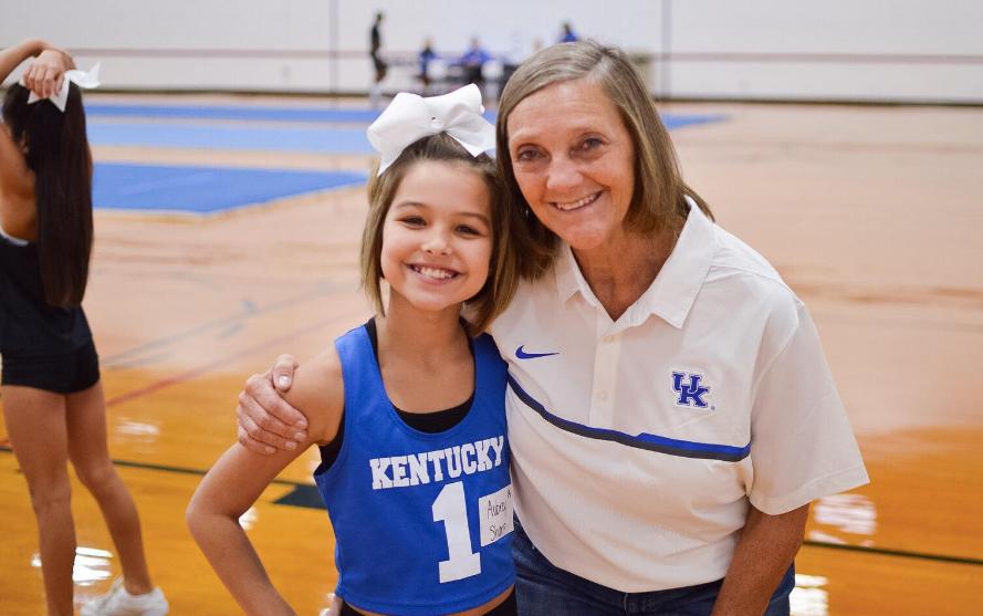 Debbie Love cheer coach