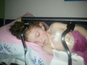 Brigitte during one of her many hospital stays.jpg