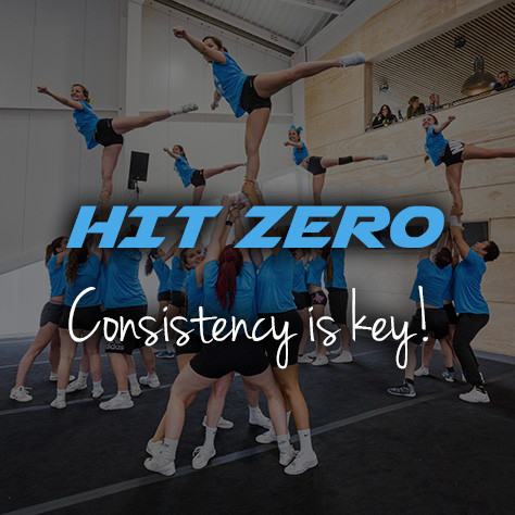 Hit zero cheerleading