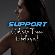 Cheer coach support