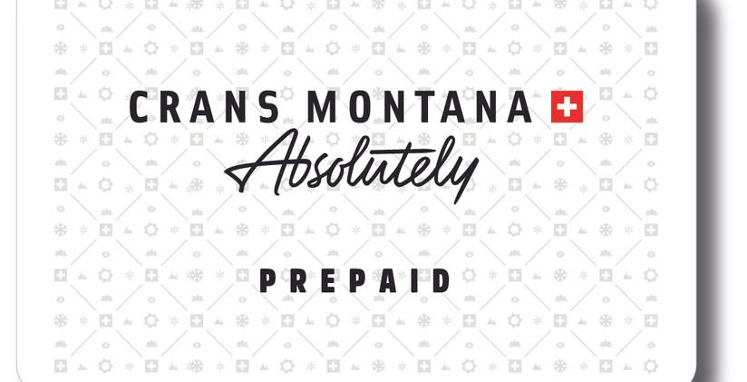 Carte Crans-Montana Prepaid
