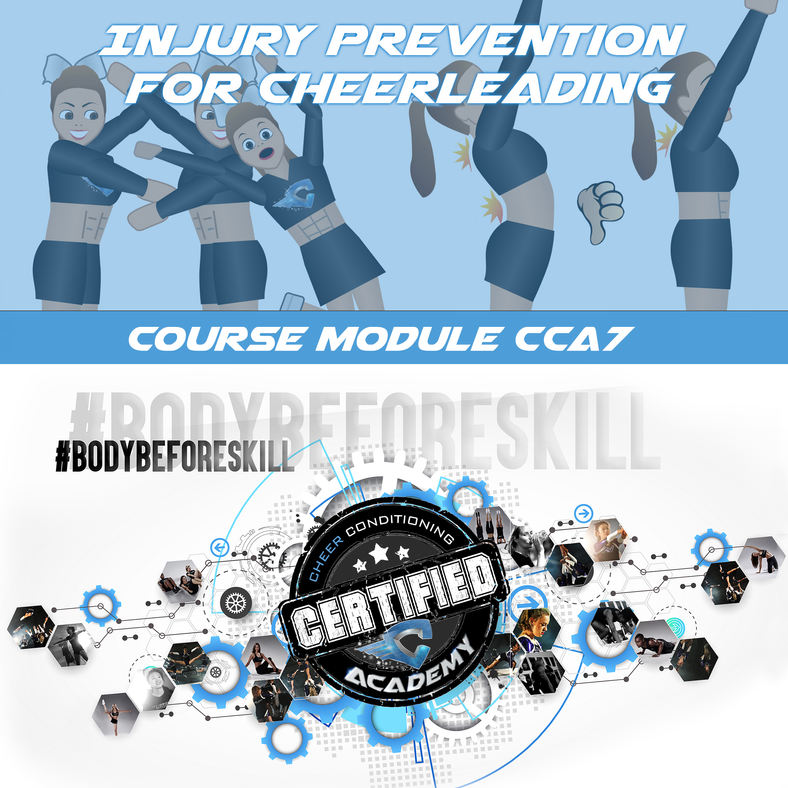 CCA7 | PREVENTING & MANAGING INJURIES COURSE