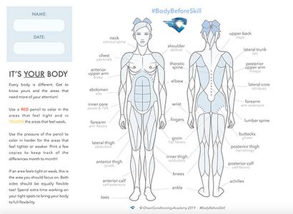 Kinesiology cheer flexibility