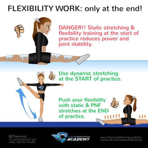 Flexibility for Cheerleading