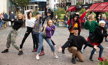 London Flash Mob Dancers