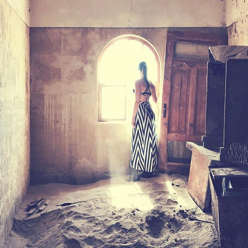 Kolmanstkop Ghost Town in Namibia
