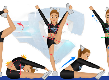 FLEXIBILITY FOR CHEERLEADING: TOP 10 STRETCHING MISTAKES & TIPS