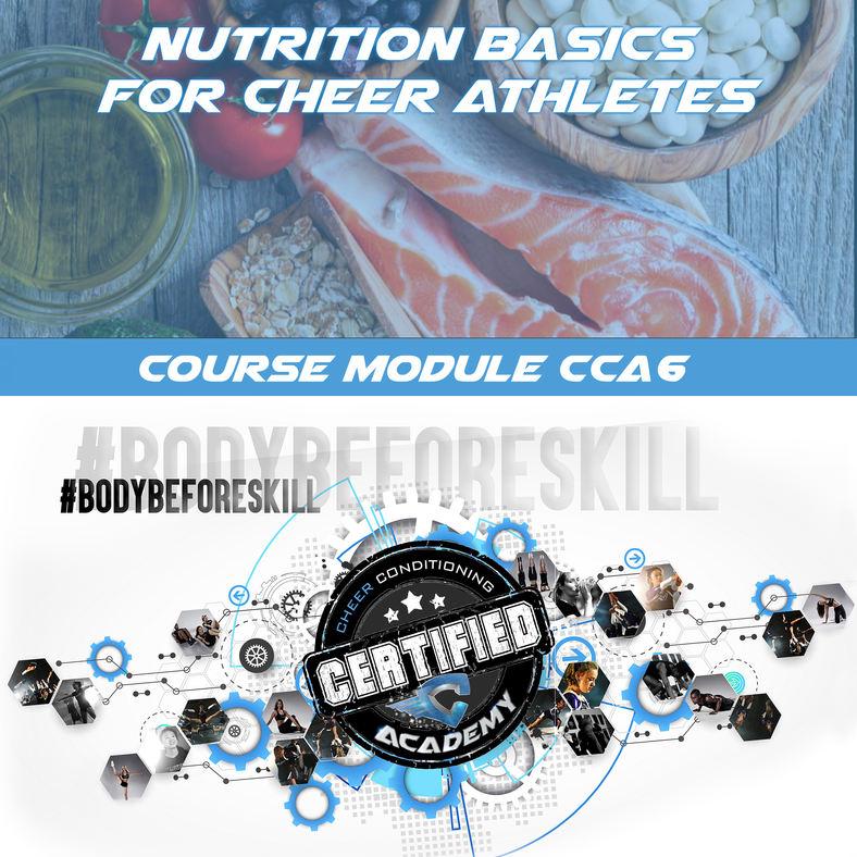 CCA6 | BASICS OF NUTRITION COACHES COURSE
