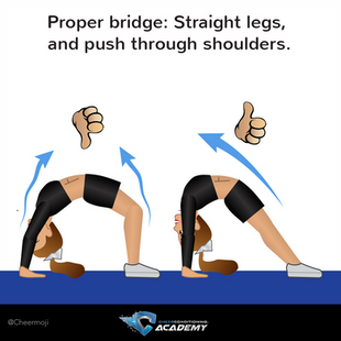HOW TO DO A BRIDGE, PROPERLY