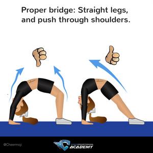How to do a bridge