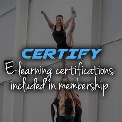 Cheerleading certification