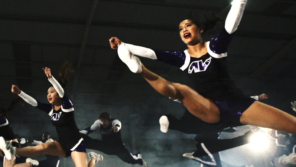 Cheerleading improve confidence