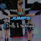 Cheerleading jumps