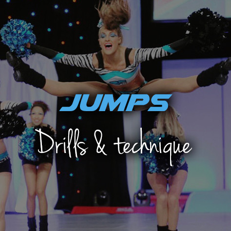 Cheerleading jumps