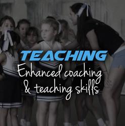 Cheer teaching skills
