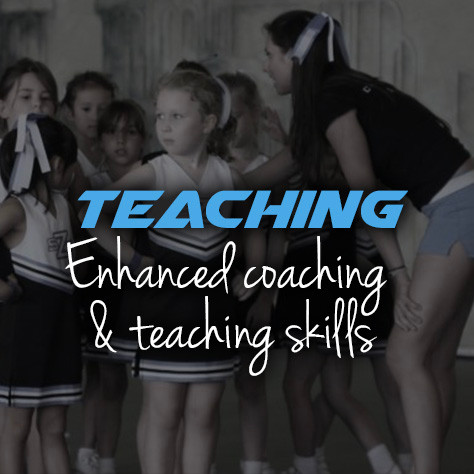 Cheer teaching skills