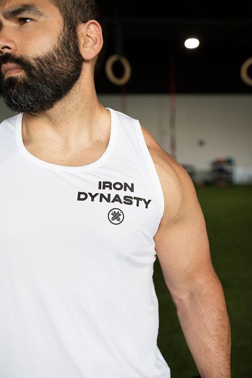Men's Iron Dynasty Tank Black or White Option