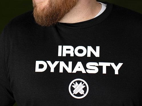 Iron Dynasty T-Shirt                             Black or White Option