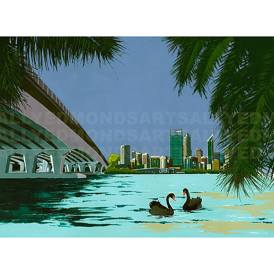 PERTH CITY | Print | Only 10 available