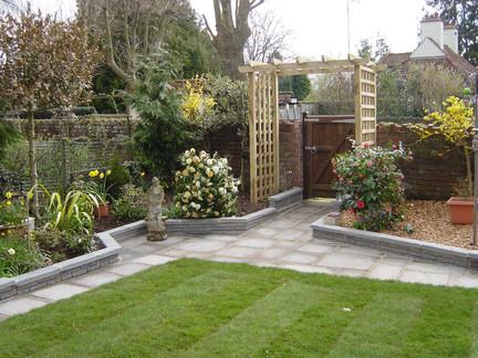 Landscaped Garden, Somerset