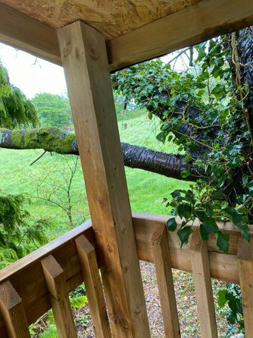 Treehouse look out tower