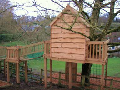 Waney Edge Timber Cladding