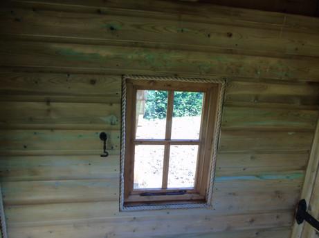 Opening Windows In The Den