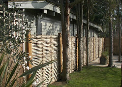 Split Hazel Fencing