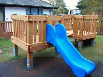 Milverton Pre-school - Play Tower