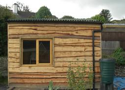 Bespoke Shed Using Waney Edge Timber.JPG