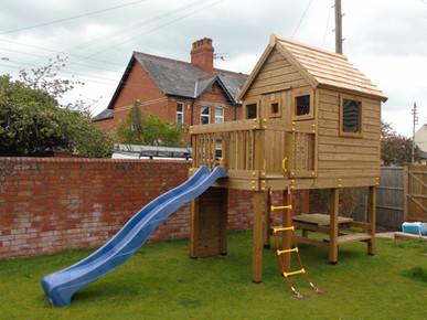 Bespoke play tower - Wellington, Somerset