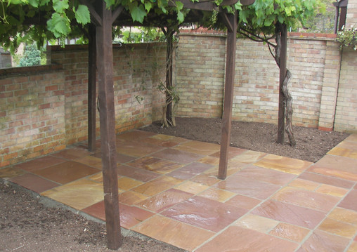 Natural Sandstone Patio