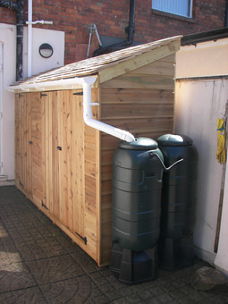 Bespoke Shed With Shiplap Roof