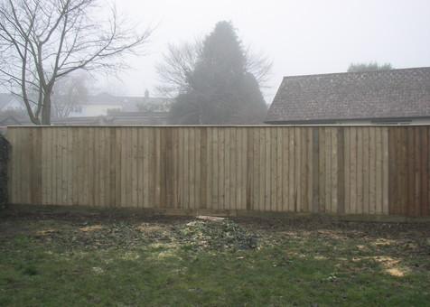 Close Board Fencing Devon