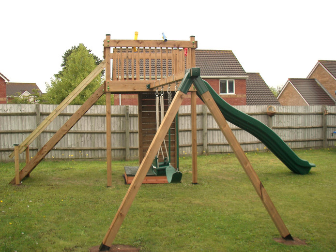 Tower With Swing Arm
