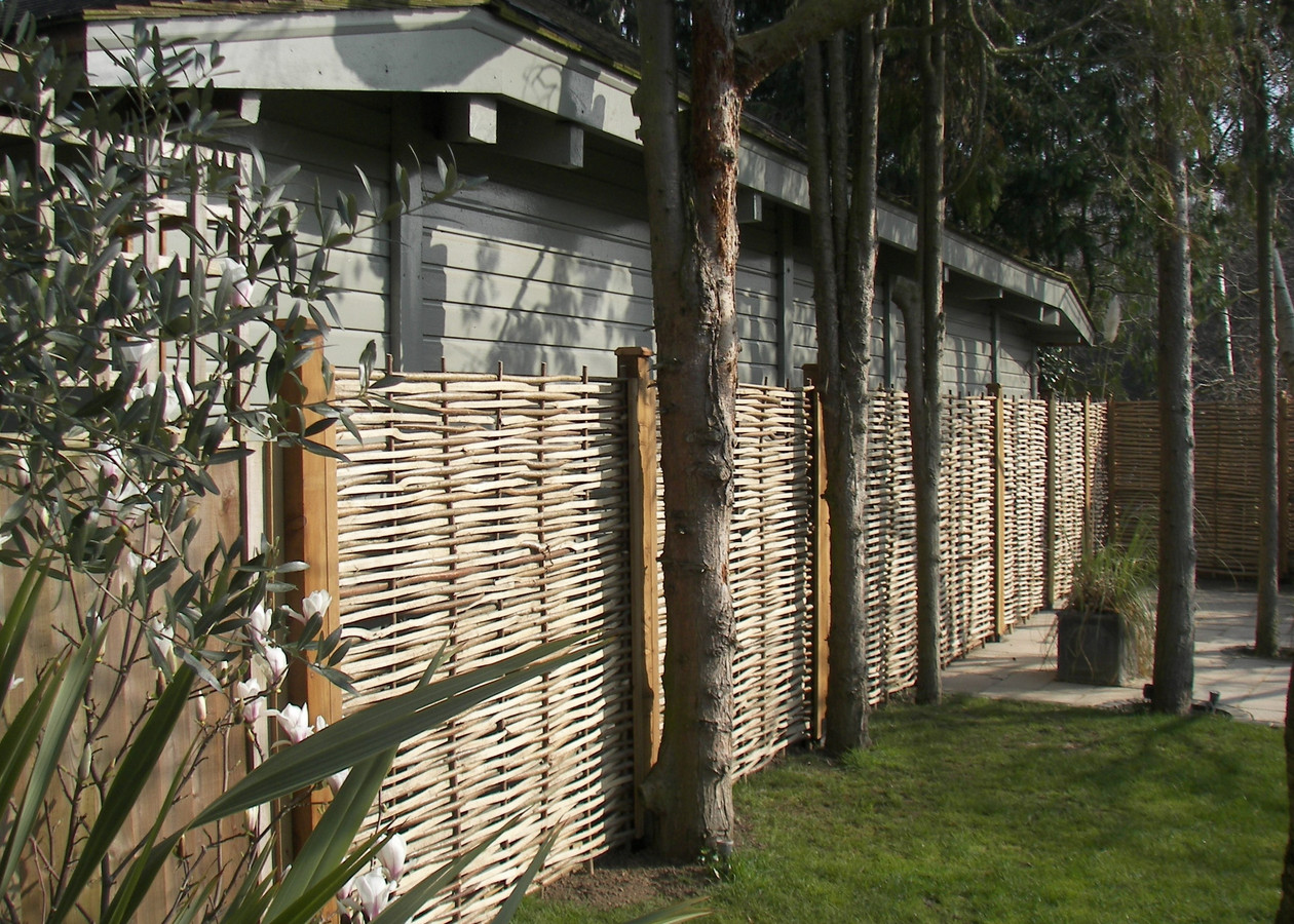 Split Hazel Fencing