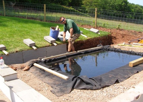 Contemporary Pond Project Stage 2