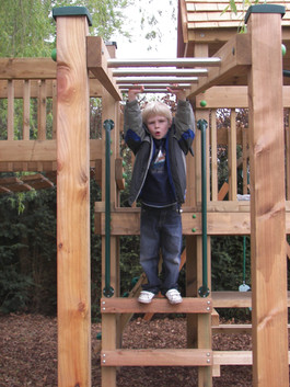 Play Tower - Surrey - Monkey Bars