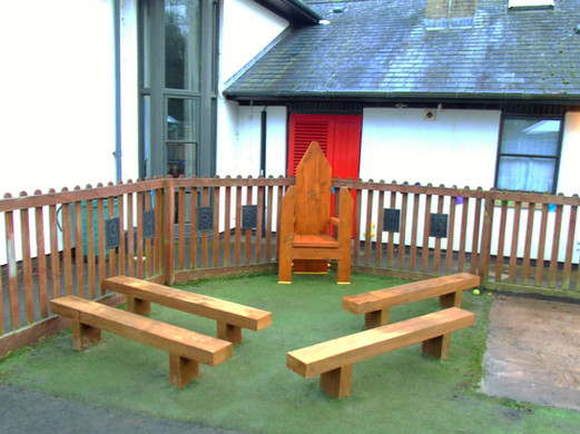 Story telling area