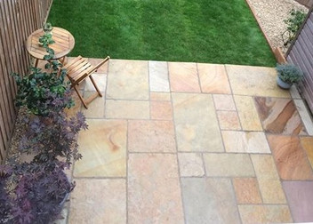 Sandstone Patio in Random Style