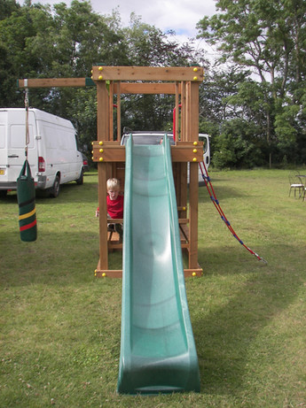 Peg Down Tower With Slide