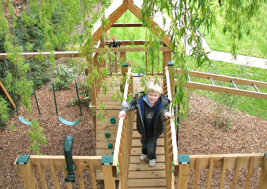 Play Tower - Surrey - Birds Eye View