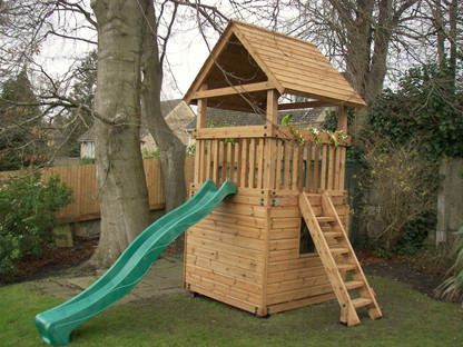 Play Tower With Ladder And Slide