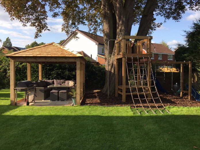 Gazebo & Play Tower