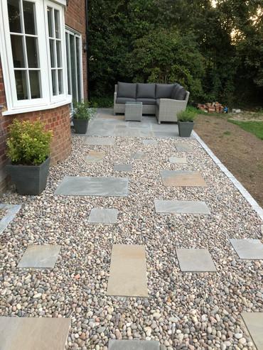 Sandstone slabs and pebbles.jpg