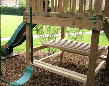 Play Tower - Surrey - Picnic Bench
