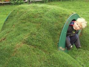Hobbit Hole Play Tunnel