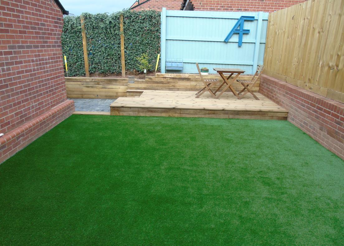 Artificial Grass & Decking