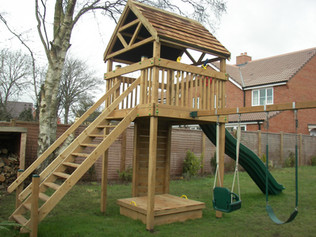 Residential Play Tower
